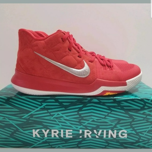 c1514593a2150 Nike Shoes | Kyrie 3 University Red Kyrie Irving Kid | Poshmark